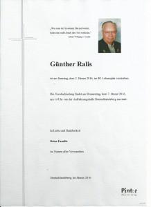 Günther Ralis
